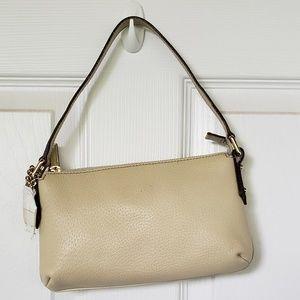 Gucci tan leather small bag